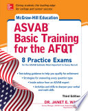 McGraw Hill Education ASVAB Basic Training for the AFQT  Third Edition