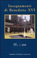 Insegnamenti di Benedetto XVI