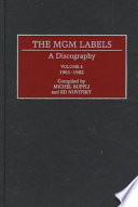 The MGM Labels  A Discography