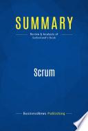 Summary  Scrum