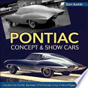 Pontiac Concept and Show Cars 1939 1980