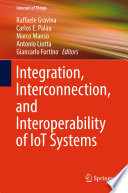 Integration  Interconnection  and Interoperability of IoT Systems