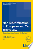 Non Discrimination in European and Tax Treaty Law