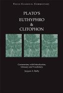 Plato s Euthyphro and Clitophon
