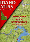 Idaho Atlas   Gazetteer