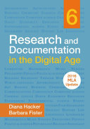 Research and Documentation in the Digital Age with 2016 MLA Update