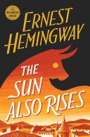 The Sun Also Rises Book