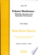 Polymer Membranes book