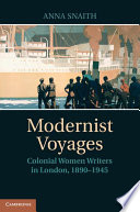 illustration du livre Modernist Voyages