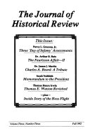 The Journal of Historical Review Book PDF