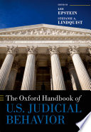 The Oxford Handbook Of U S Judicial Behavior