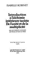 Introduction à l'alchimie intérieure taoïste