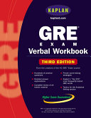 GRE Exam Verbal Workbook