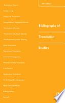 Bibliography of Translation Studies  2001
