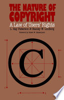 illustration The Nature of Copyright, A Law of Users' Rights