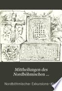 Mittheilungen des Nordböhmischen Excursions-Clubs