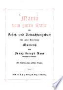 Maria vom guten Rathe