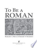 To be a Roman Pdf/ePub eBook