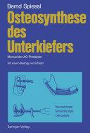 Osteosynthese des Unterkiefers