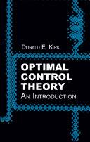 Optimal Control Theory