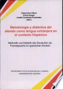 Methodik und Didaktik des Deutschen als Fremdsprache im spanischen Kontext