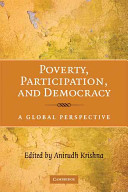 Poverty  Participation  and Democracy