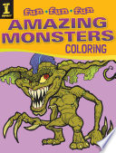 Amazing Monsters Coloring