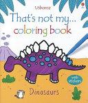 That s Not My Dinosaur