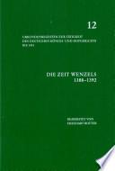 Urkundenregesten zur Tätigkeit des deutschen Königs- und Hofgerichts bis 1451