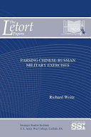 Parsing Chinese Russian Military Exercises
