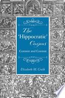 The Hippocratic Corpus