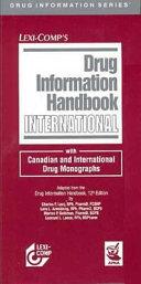 Lexi Comp s Drug Information Handbook International
