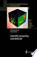 Scientific Computing with MATLAB