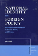 National Identity and Foreign Policy