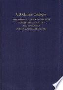 A Bookman s Catalogue Vol  2 M End