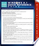 Windows 8 1 Quick Reference Guide  Speedy Study Guides