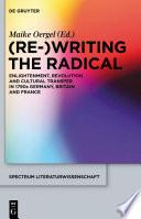 Re  Writing the Radical