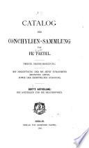 Catalog der conchylien-sammlung: abt. Die acephalen und die brachiopoden