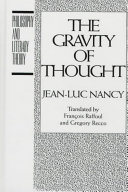 The Gravity of Thought Book PDF