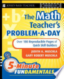 The Math Teacher s Problem a Day  Grades 4 8