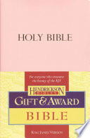Gift   Award Bible KJV