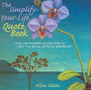 The Simplify Your Life Quote Book