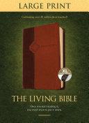 The Living Bible Large Print Edition  Tutone