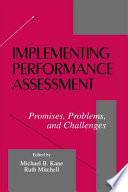 Implementing Performance Assessment