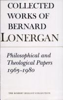 Philosophical and Theological Papers, 1965-1980
