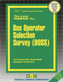 Bus Operator Selection Survey  Boss
