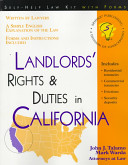 Landlords  Rights   Duties in California
