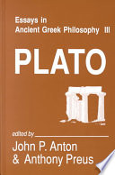 Essays in Ancient Greek Philosophy III