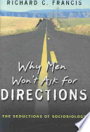 Why Men Won t Ask for Directions