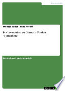 Buchrezension zu Cornelia Funkes  Tintenherz
